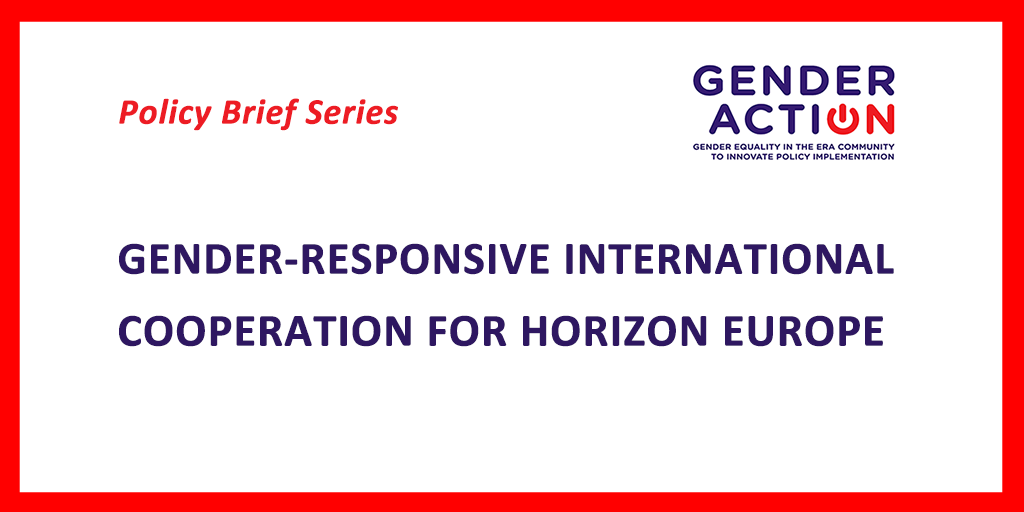 HORIZON EUROPE – GENDERACTION